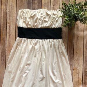 100% Silk Diane Von Furstenberg White Dress Sz 6